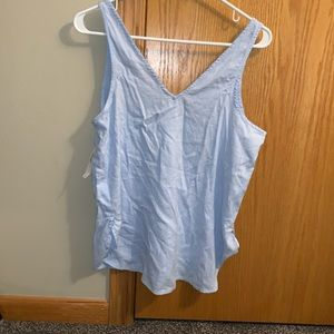 Old Navy Tops - NWT Old Navy Chambray Tank
